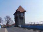 Nowe Skalmierzyce. Dworzec przy dawnej granicy