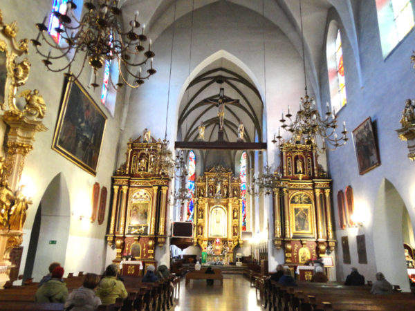 Nowy Sącz. Najcenniejsza: bazylika św. Małgorzaty