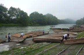 Pieniny Na tratwach przez przełom Dunajca