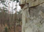 Glinne. Leski Kamień, pierwsza skała pod ochroną