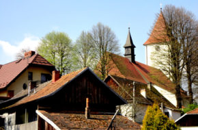 Lipnica Murowana Małopolska wieś nad Uszwicą