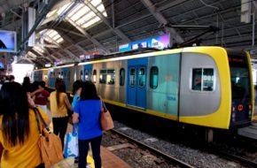 Manila Koleją po stolicy Filipin