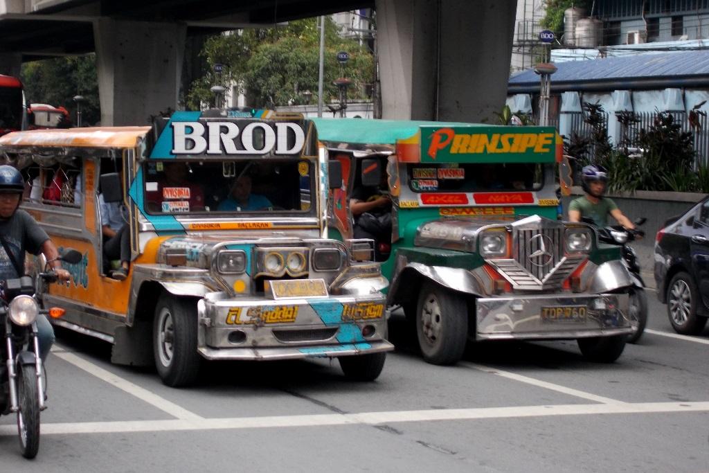 Manila Jeepneys, czyli zbiorowe taksówki