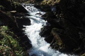 Zatwarnica Szepit, bieszczadzki wodospad