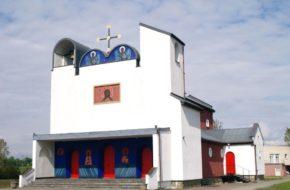 Biały Bór Cerkiew Jerzego Nowosielskiego