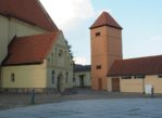 Rheinsberg. Tu zamku strzeże rudy kot