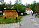 Słowiński Park Narodowy. Przez las w stronę ruchomych wydm