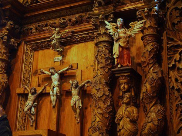 Wielin Ludowy barok w wiejskim kościółku