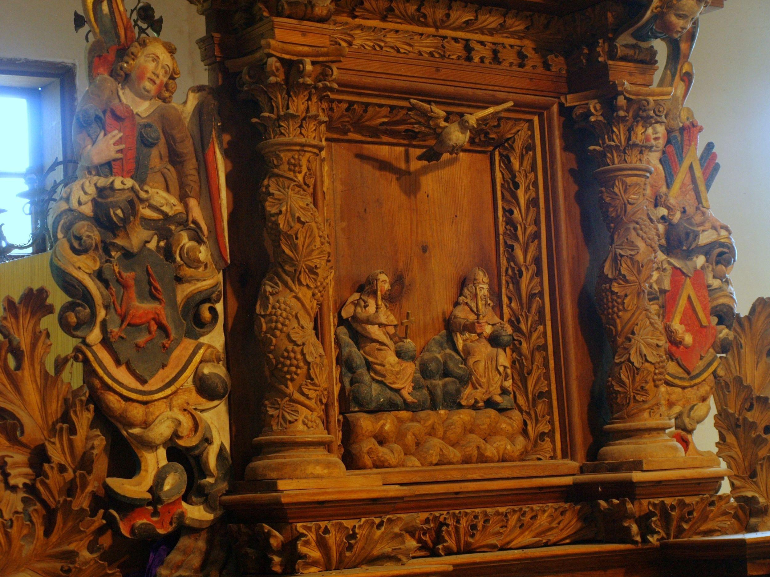Wielin. Ludowy barok w wiejskim kościółku
