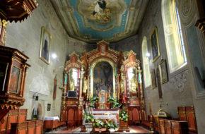 Lipnica Murowana Gotycki kościół św. Andrzeja