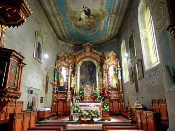Lipnica Murowana. Gotycki kościół św. Andrzeja