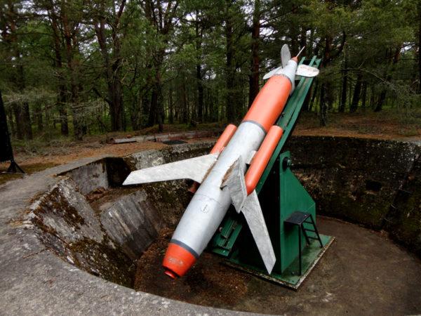 Łeba Tajemnice wyrzutni rakiet w Rąbce