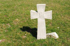 Kalisz Cmentarz ukraińskich żołnierzy