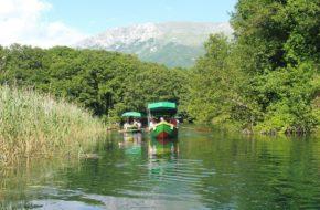 Ochryda U źródeł rzeki Czarny Drim