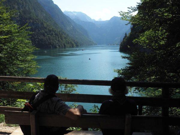 Königssee Najpiękniejsze jezioro w Bawarii