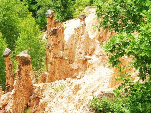 Đavolja Varoš. Skalne grzyby w Mieście Diabła