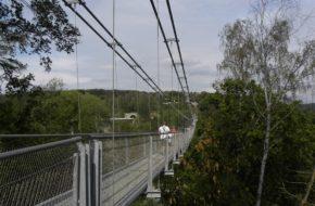 Rappbode Wiszący most nad zaporą