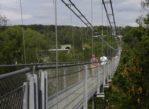 Rappbode. Wiszący most nad zaporą