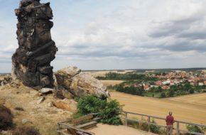 Teufelsmauer Diabeł zbudował mur na skraju Harzu…