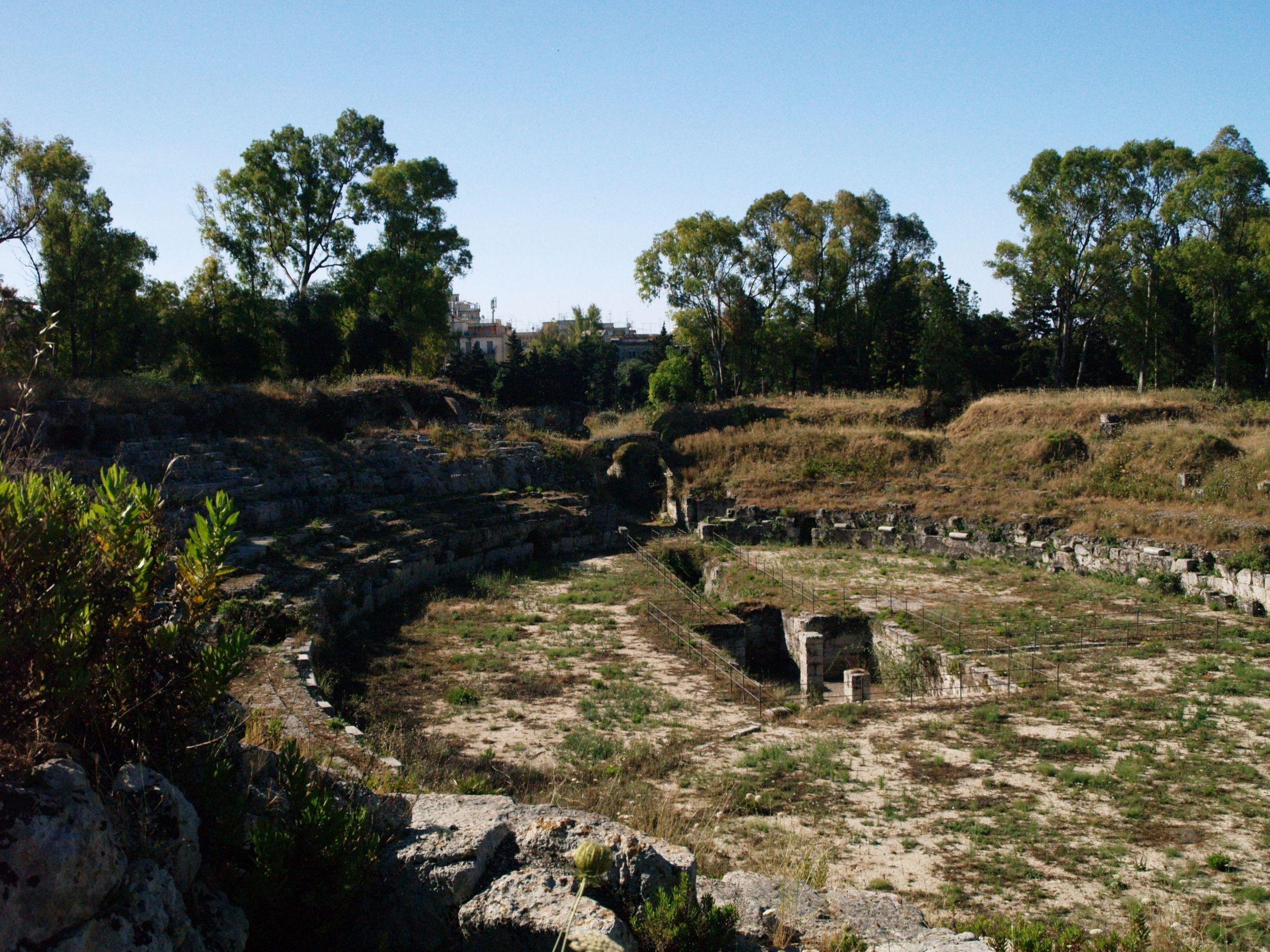 Syrakuzy. Park archeologiczny Neapolis