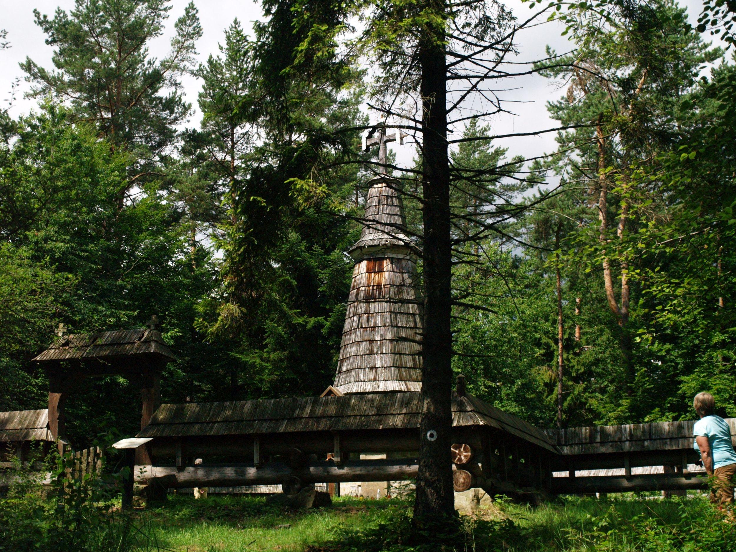 Gładyszów. Cmentarz nr 55 Dušana Jurkowiča