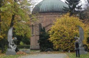 Berlin Cmentarz splantowany pod mur