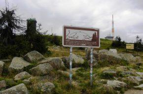 Brocken Ten szczyt też był otoczony murem