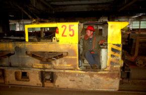 Prievidza W podziemnej kopalni węgla brunatnego