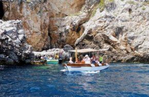 Korfu Morze Jońskie i zatoka Paleokastritsa