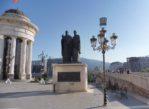 Skopje. W stolicy Macedonii Północnej