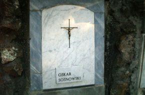 Rzym Polscy artyści na Cmentarzu Verano