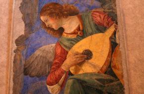Watykan Muzykujące anioły w Pinakotece