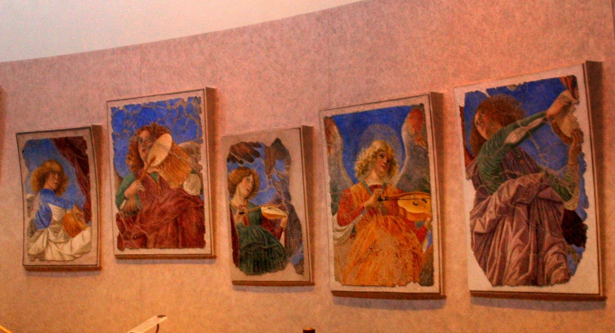 Watykan. Muzykujące anioły w Pinakotece