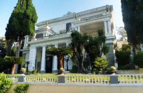 Gastouri Wakacyjna rezydencja cesarzowej Sisi