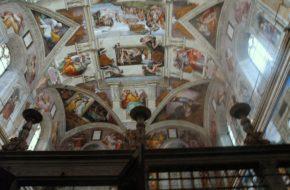 Watykan Freski w Kaplicy Sykstyńskiej