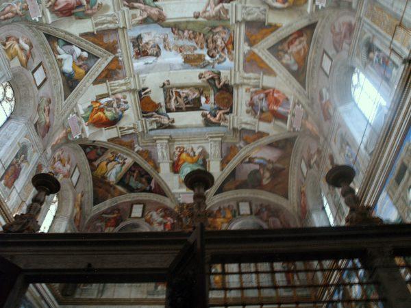 Watykan. Freski w Kaplicy Sykstyńskiej