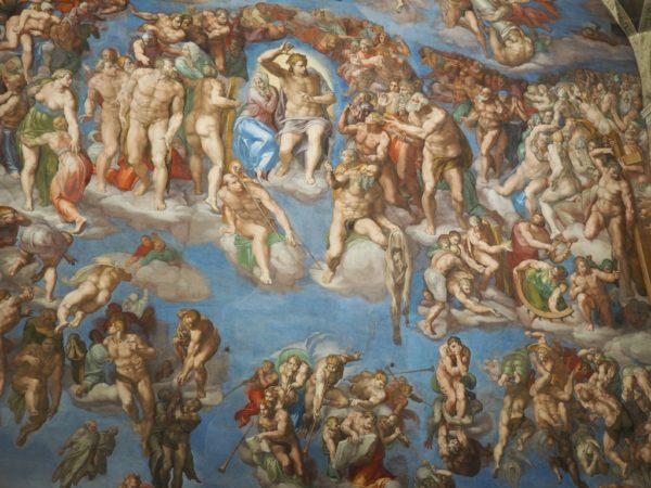 Watykan. Sąd Ostateczny w Kaplicy Sykstyńskiej
