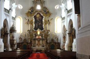 Trutnov Dziesięć ołtarzy miejscowej fary