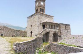Gjirokastra Muzeum i schron w zamku Kalaja