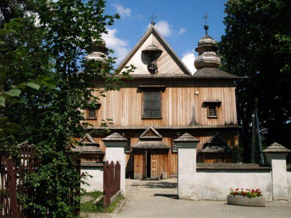 Szalowa Kościół drewniany jak murowany