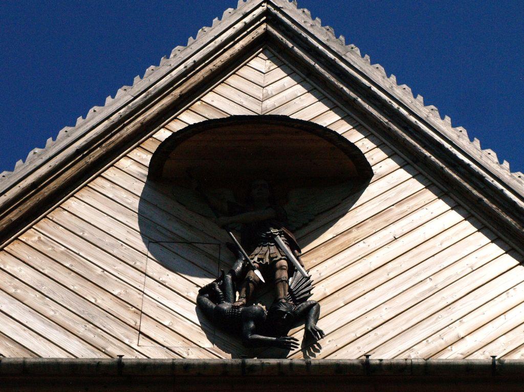 Szalowa. Kościół drewniany jak murowany