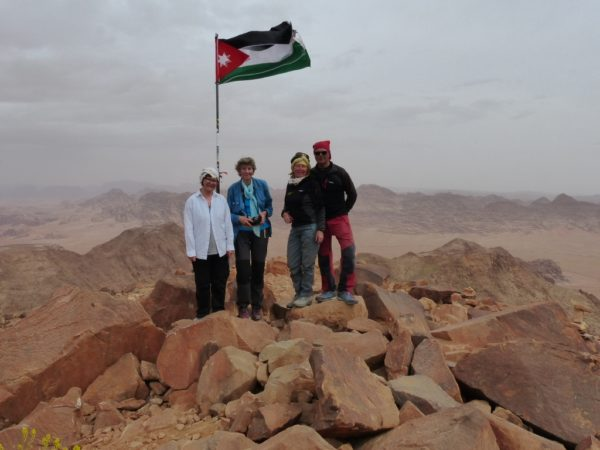 Wadi Rum Na najwyższy szczyt Jordanii