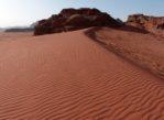 Wadi Rum. Przez pustynię, w stronę najwyższej góry…
