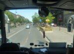Budapeszt. Węgierska stolica z okien autokaru