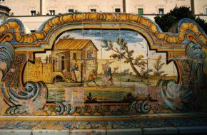 Neapol Majoliki w klasztorze św. Klary