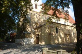 Koźmin Wielkopolski Fara czyli kościół św. Wawrzyńca