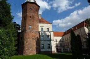 Koźmin Wielkopolski Zamek królewski, bo gościł króla
