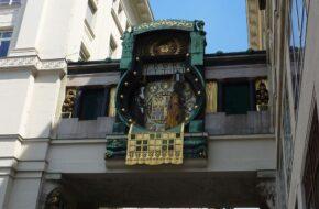 Wiedeń Ankeruhr i zegary zebrane w muzeum