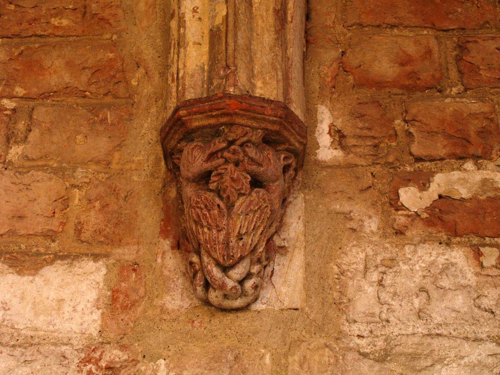 Chorin. Ruina cysterskiego opactwa