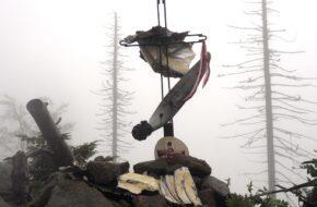 Obidowiec Pomnik lotniczej katastrofy